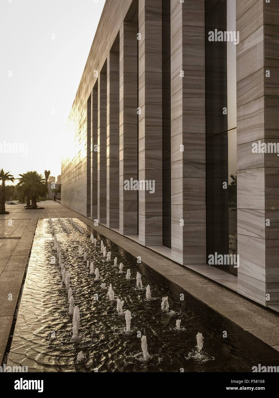 View of the new Sheikh Abdullah Al Salem Cultural Centre and museums (opened March 2018) in Kuwait City, Kuwait - Stock Image