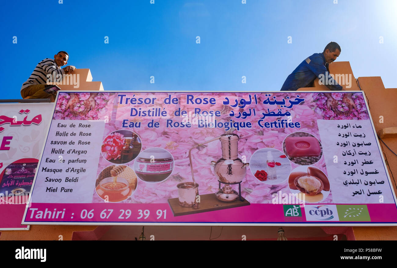 El Kelaa Des M Gouna The Rose Capital Of Morocco Prepares For The
