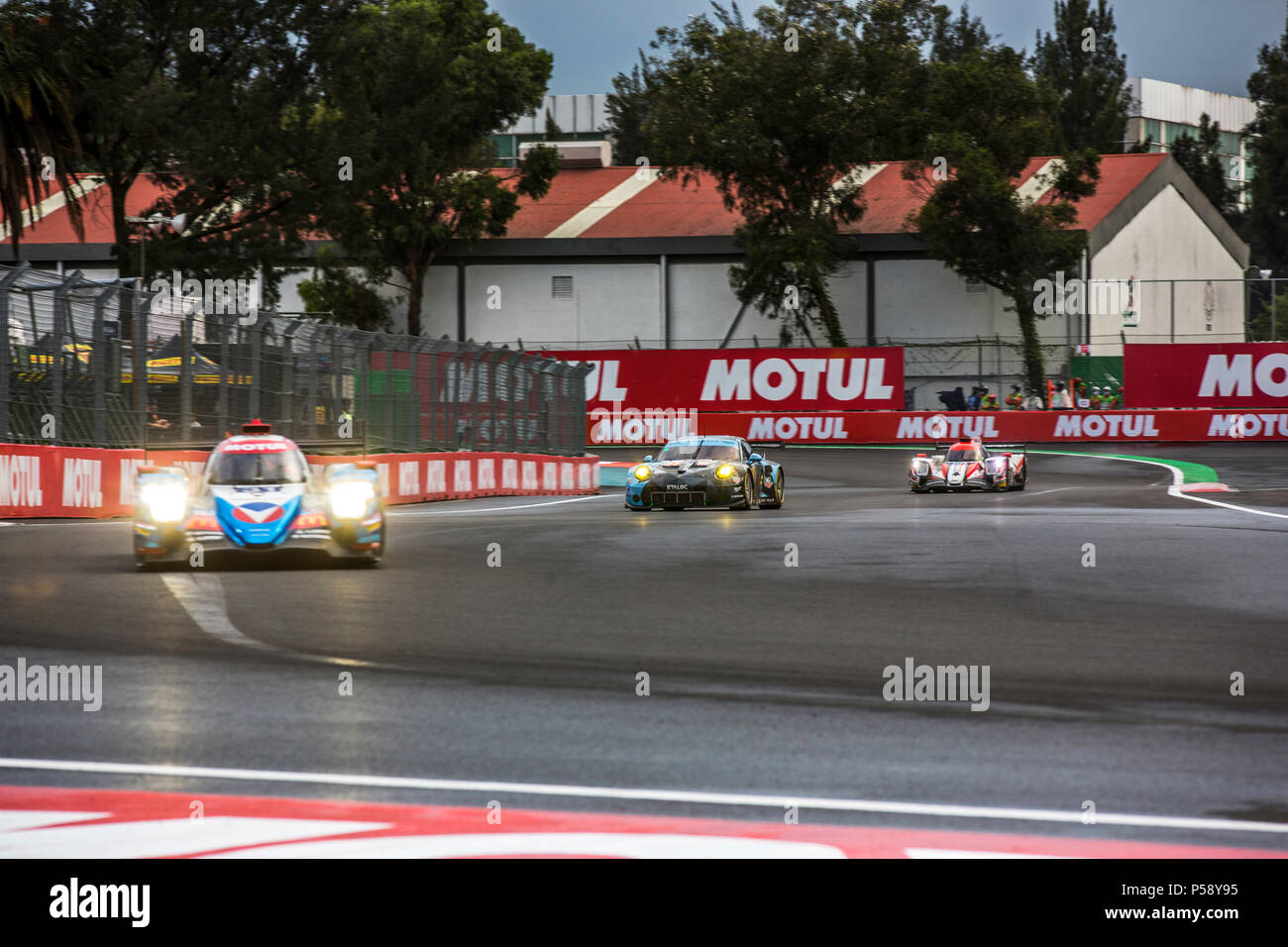 Mexico City, Mexico – September 01, 2017: Autodromo Hermanos