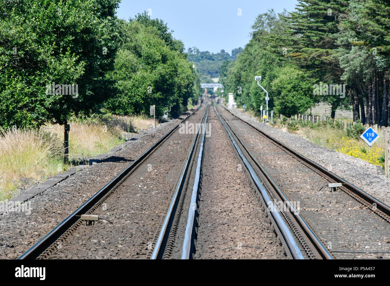 Buckling Rail Stock Photos & Buckling Rail Stock Images - Alamy
