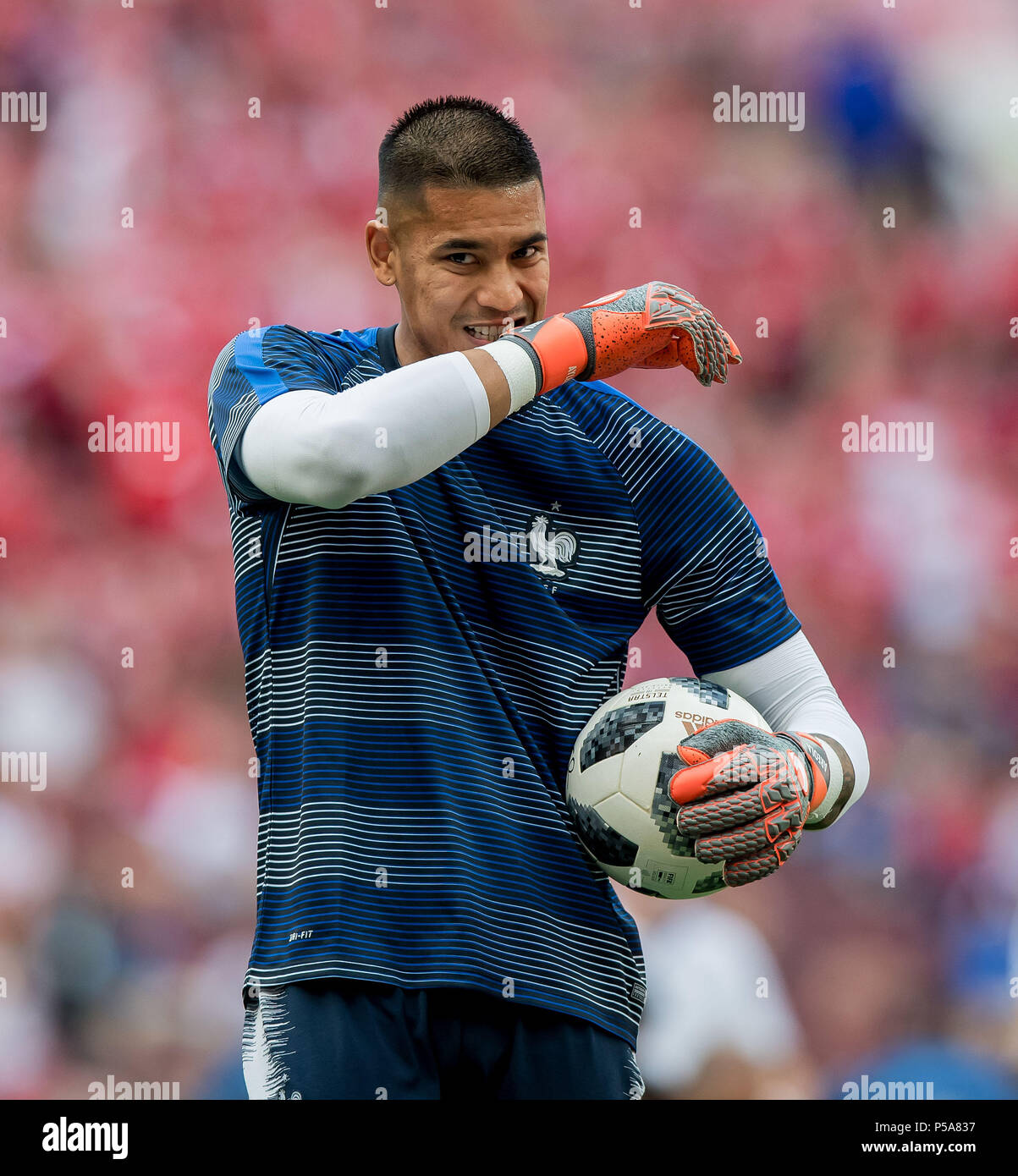 6a81f79216c 26th June, 2018. goalkeeper Alphonse Areola (France) before