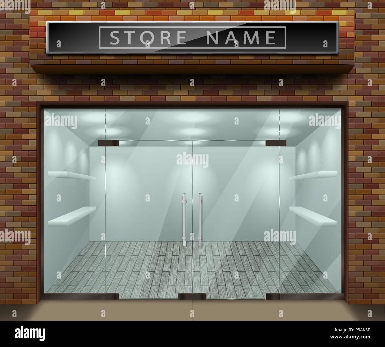 Store Window Design Stock Photos Amp Store Window Design