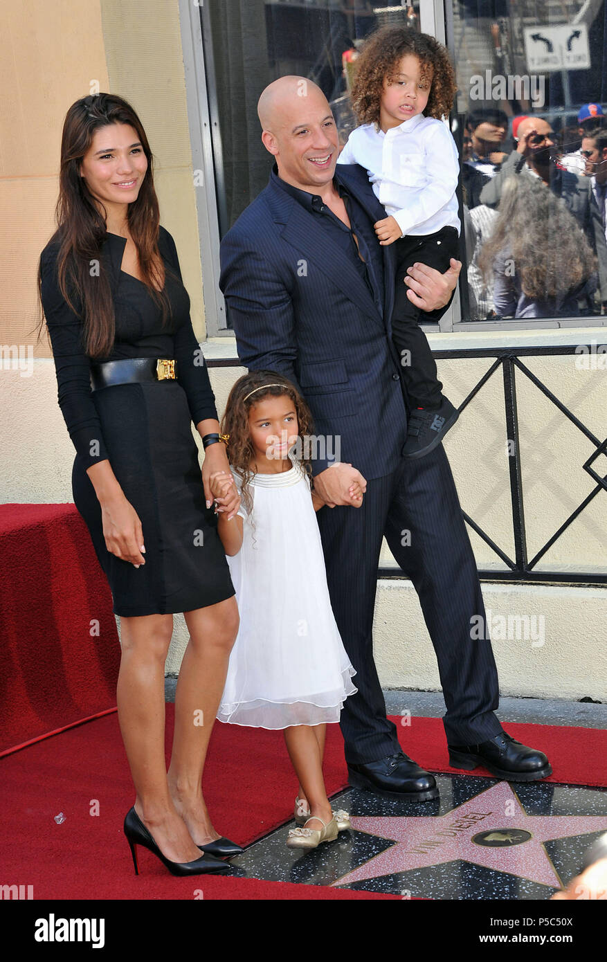 Vin Diesel And Wife High Resolution Stock Photography And Images Alamy