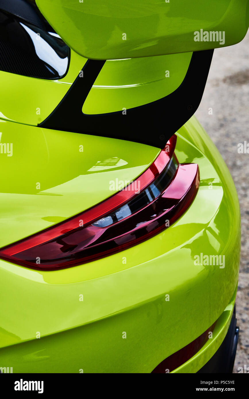 Porsche 991 GT2 RS, German sports car ,2018,limited edition - Stock Image