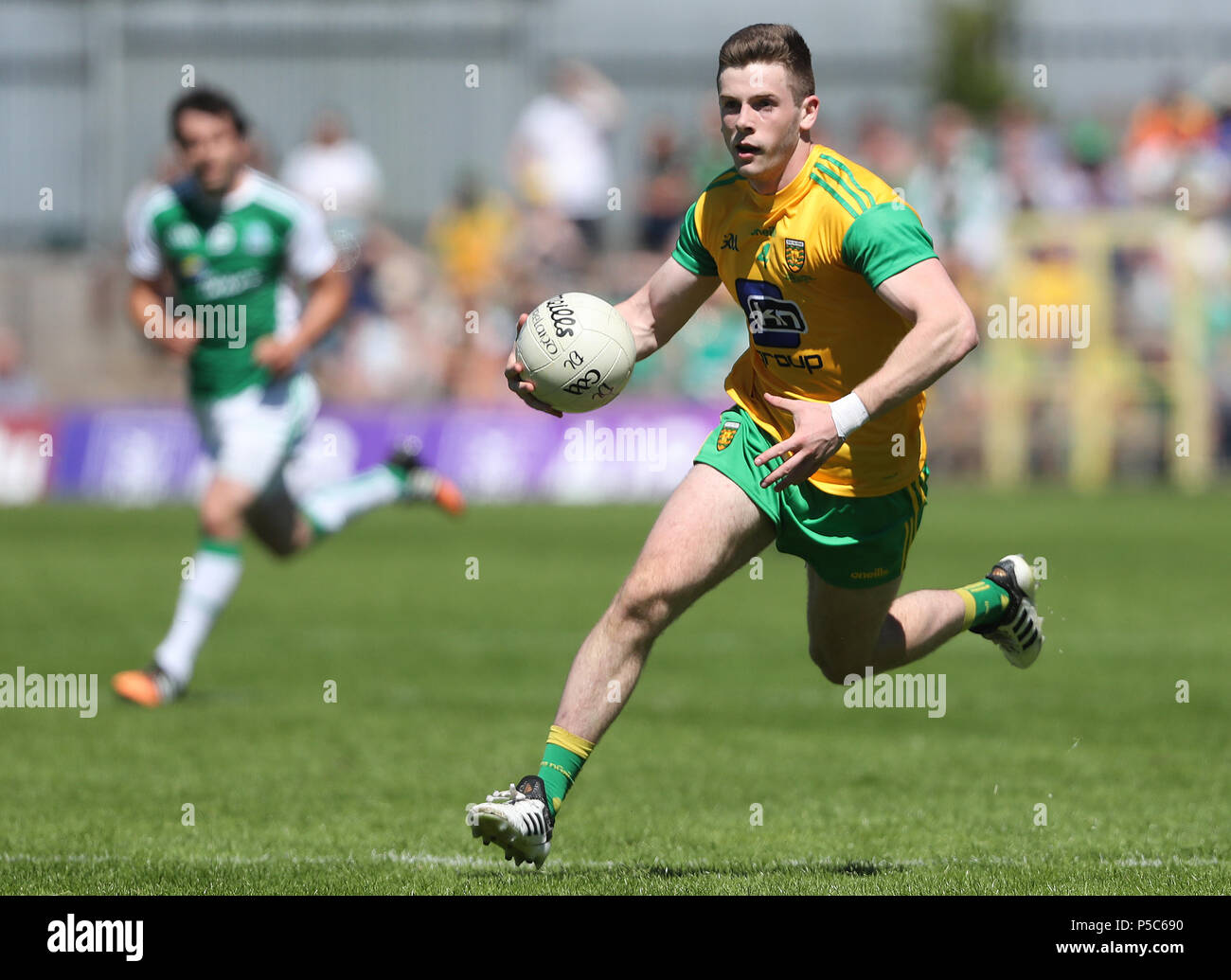 Donegal's Eoghan Ban Gallagher during the GAA Ulster Final in Clones, Co Monaghan, Ireland. - Stock Image