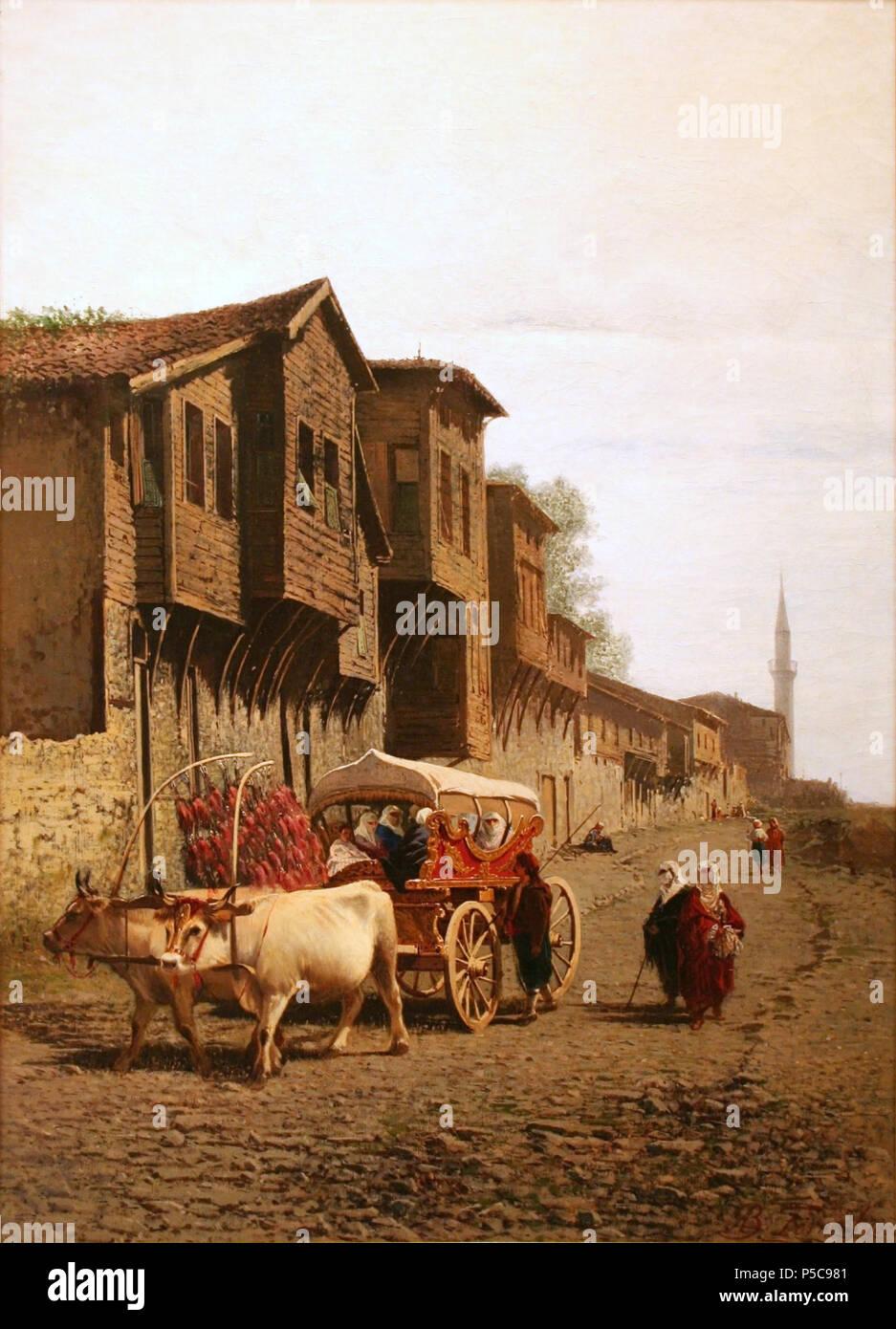 "56 Achille Formis - The ""Koçu"" Cart Stock Photo"