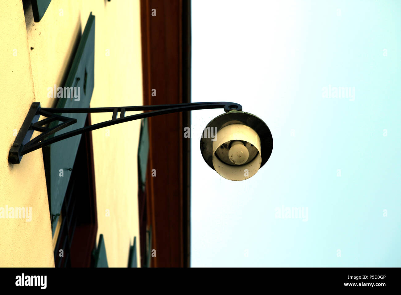 French wall lamp - Stock Image