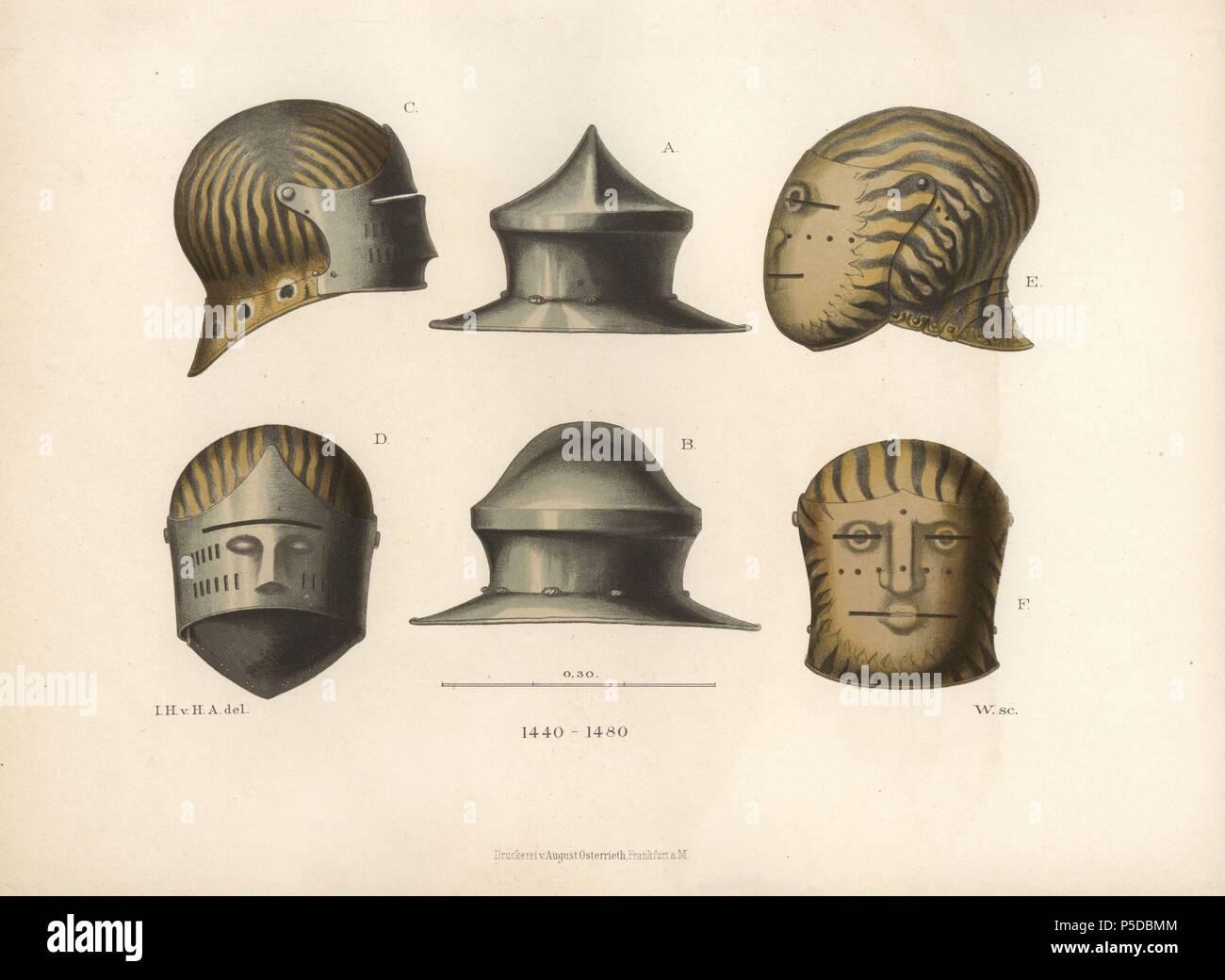 Sallet Helmet Stock Photos & Sallet Helmet Stock Images - Alamy