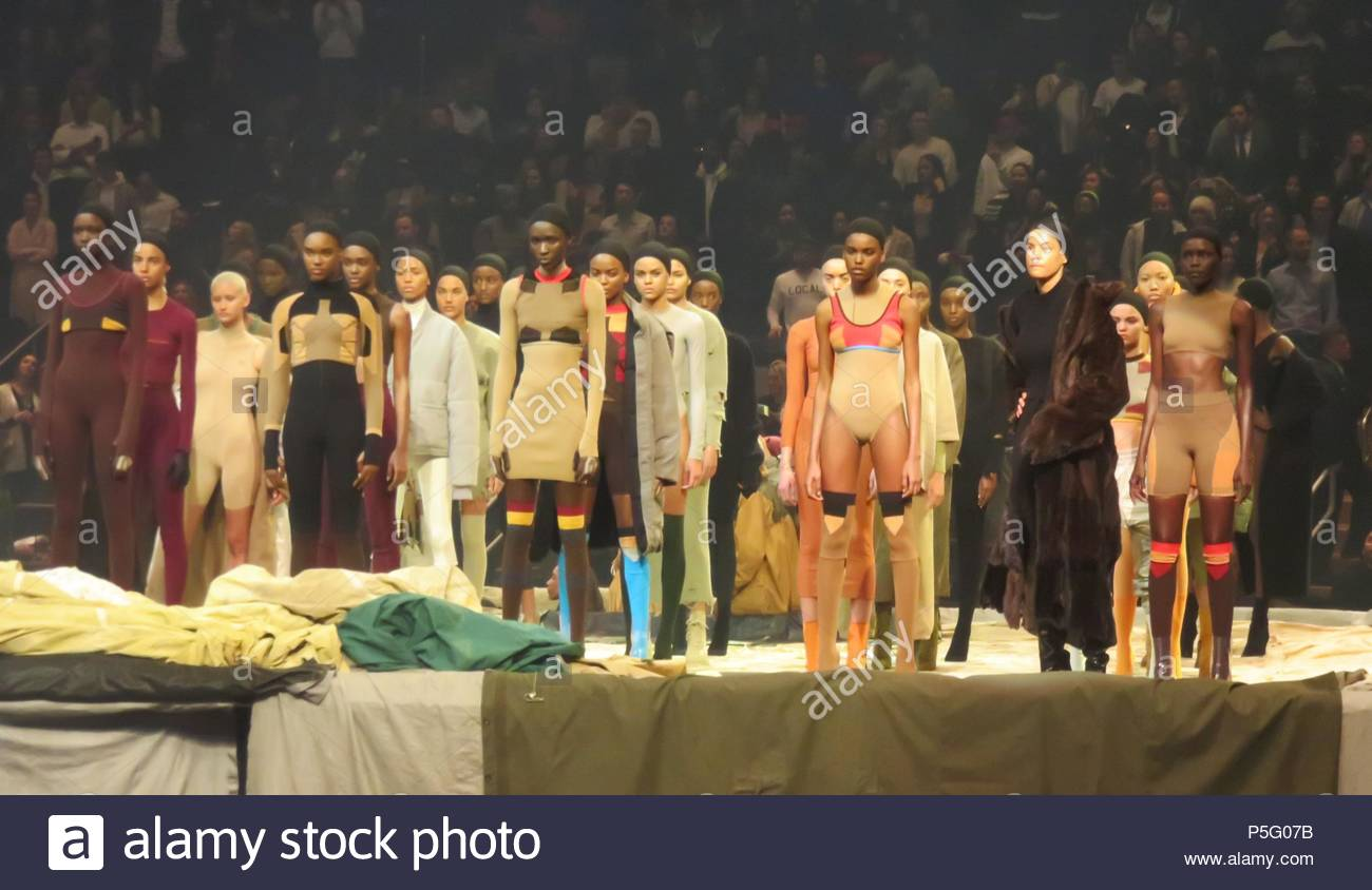 Kanye West Debuts New Album And Yeesy 3 Fashion Show At Madison Square  Garden In New York City