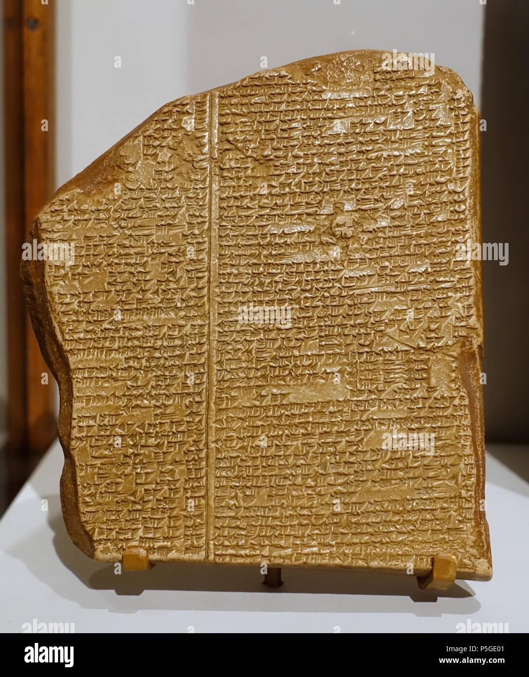 Epic Of Gilgamesh Stock Photos & Epic Of Gilgamesh Stock