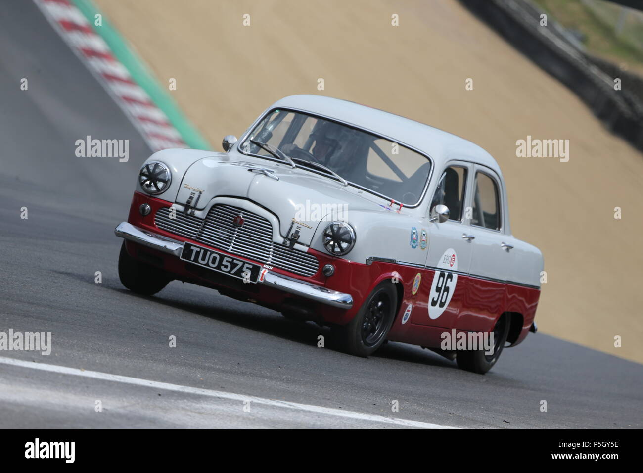 Vintage cars Brands Hatch kent UK - Stock Image