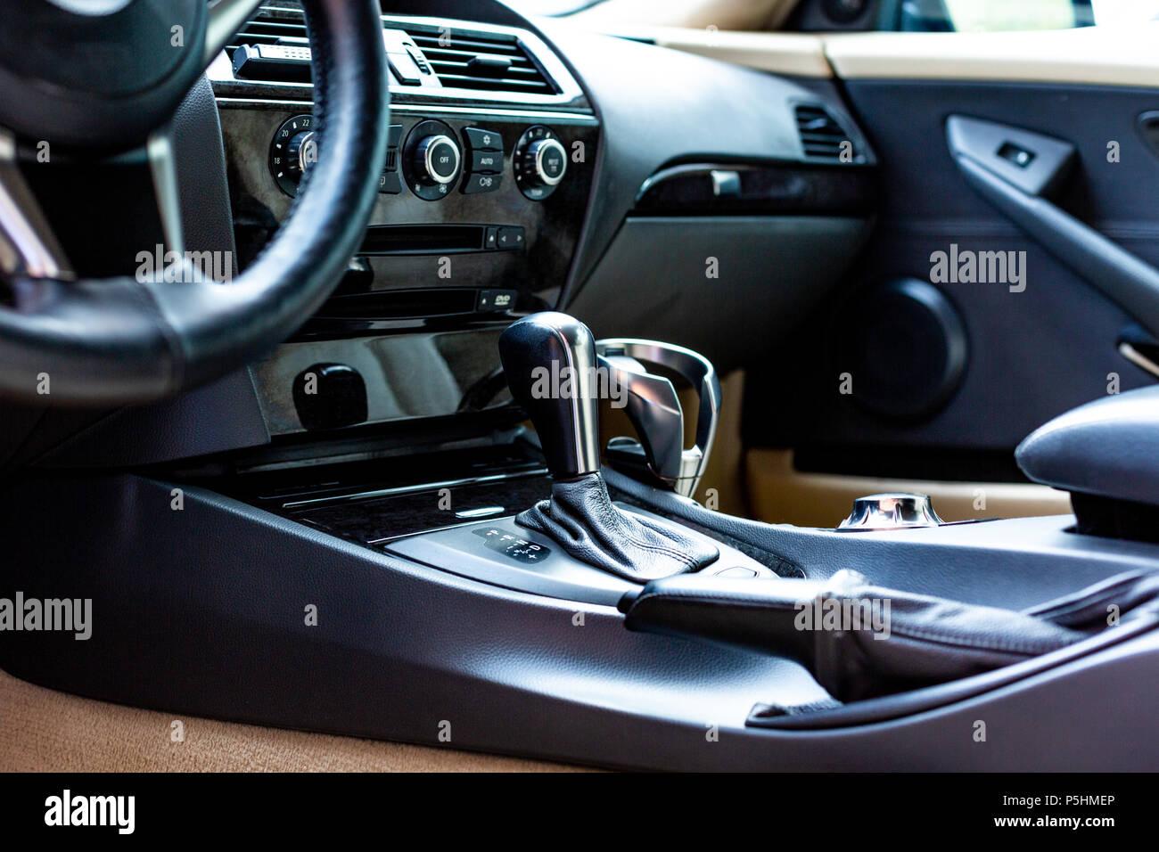 Luxurious Car Dashboard Stock Photos Luxurious Car Dashboard Stock