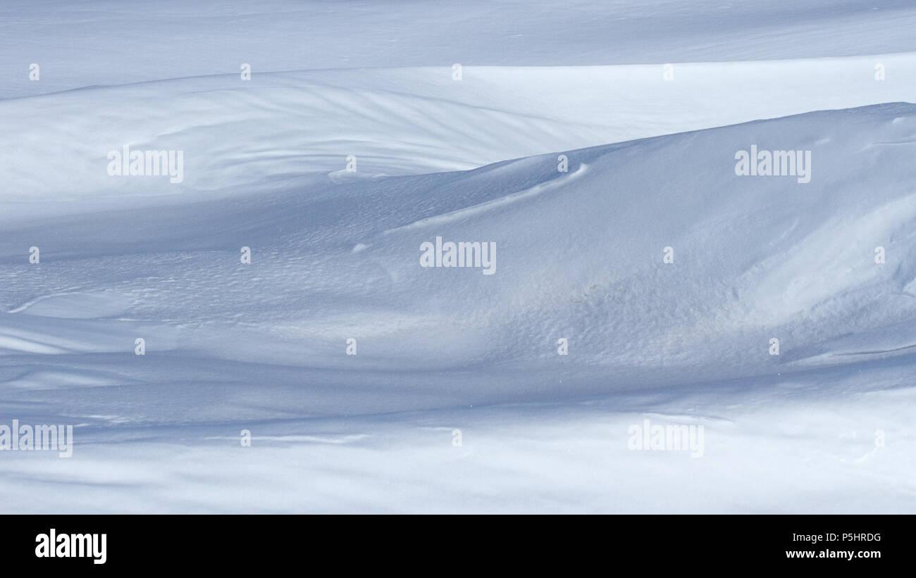 Pressure ridges, sea ice, Antarctica - Stock Image