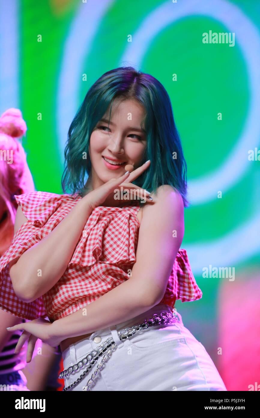 Seoul Korea 26th June 2018 Momoland Promote The 4th Mini Album