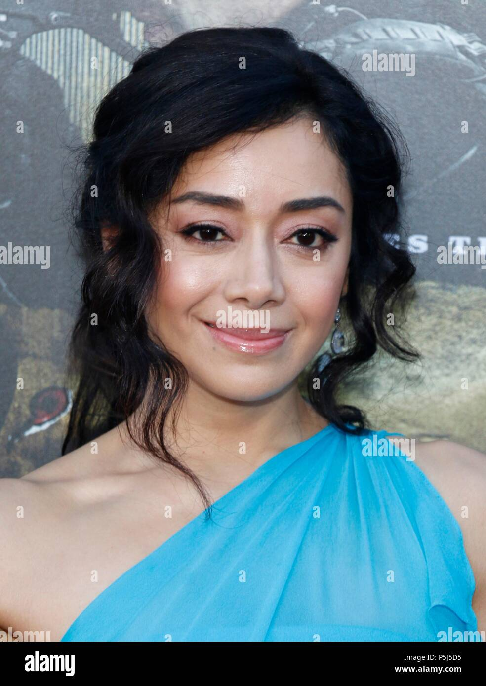 Los Angeles, CA, USA. 26th June, 2018. Aimee Garcia at arrivals for SICARIO: DAY OF THE SOLDADO Premiere, Regency Village Theatre - Westwood, Los Angeles, CA June 26, 2018. Credit: Elizabeth Goodenough/Everett Collection/Alamy Live News Stock Photo