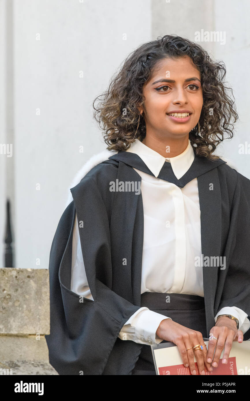 1db61936948 Dressed in a formal academic gown