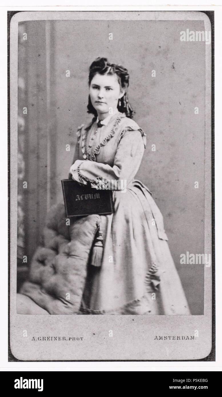 N A Nederlands Beschrijving Onbekend Zogenaamde Carte De Visite Documenttype Foto Vervaardiger Greiner Albert 1833 1890 Collectie