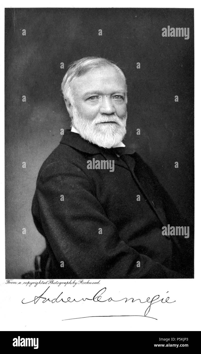 N/A  English: Portrait of Andrew Carnegie published in 1902