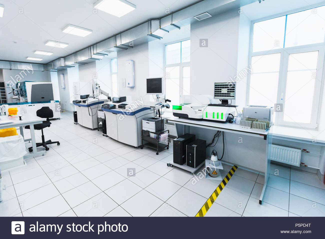 Clinical Chemistry Analyzer Stock Photos & Clinical