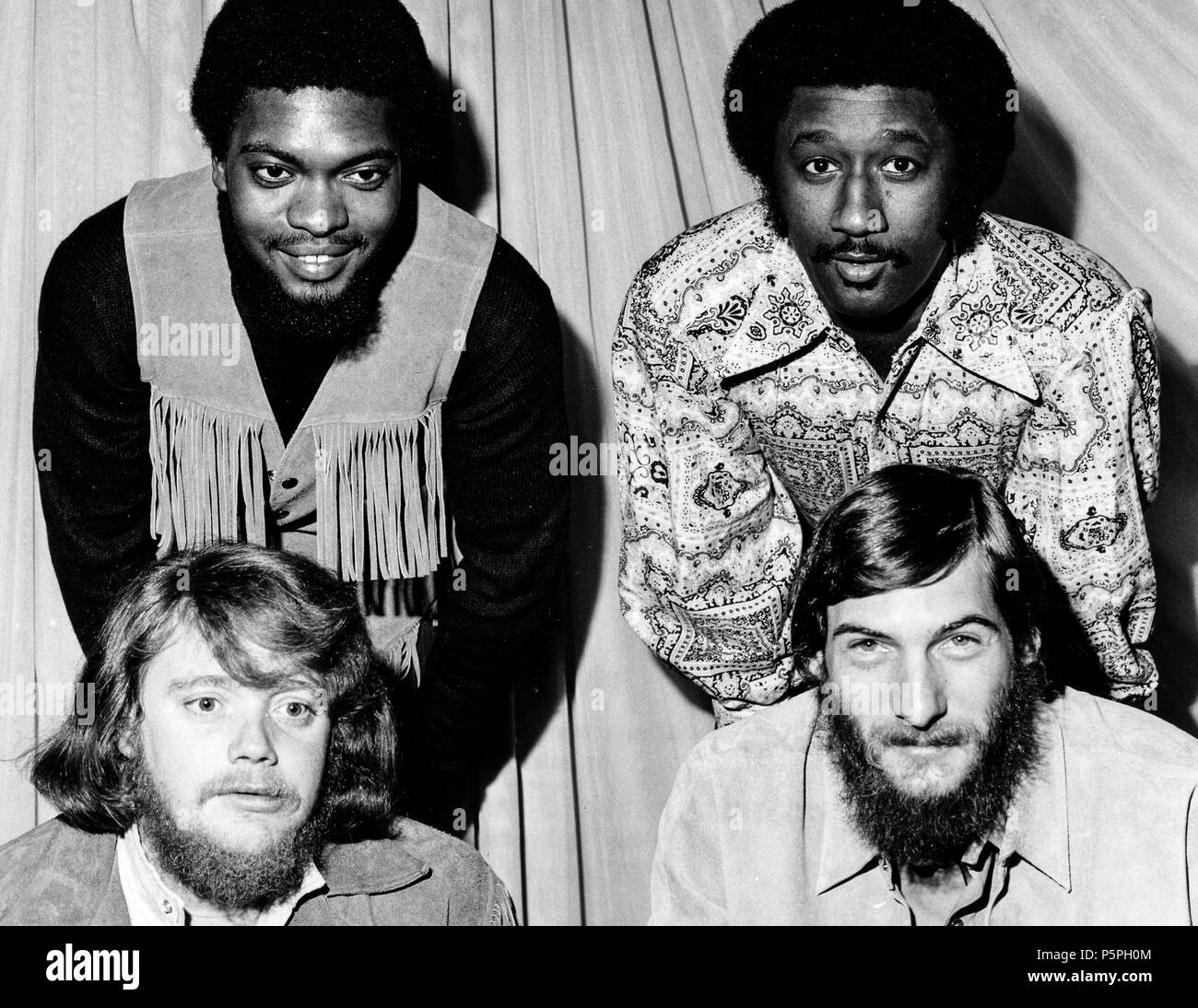 booker T. & the M.G.'s, 70s - Stock Image