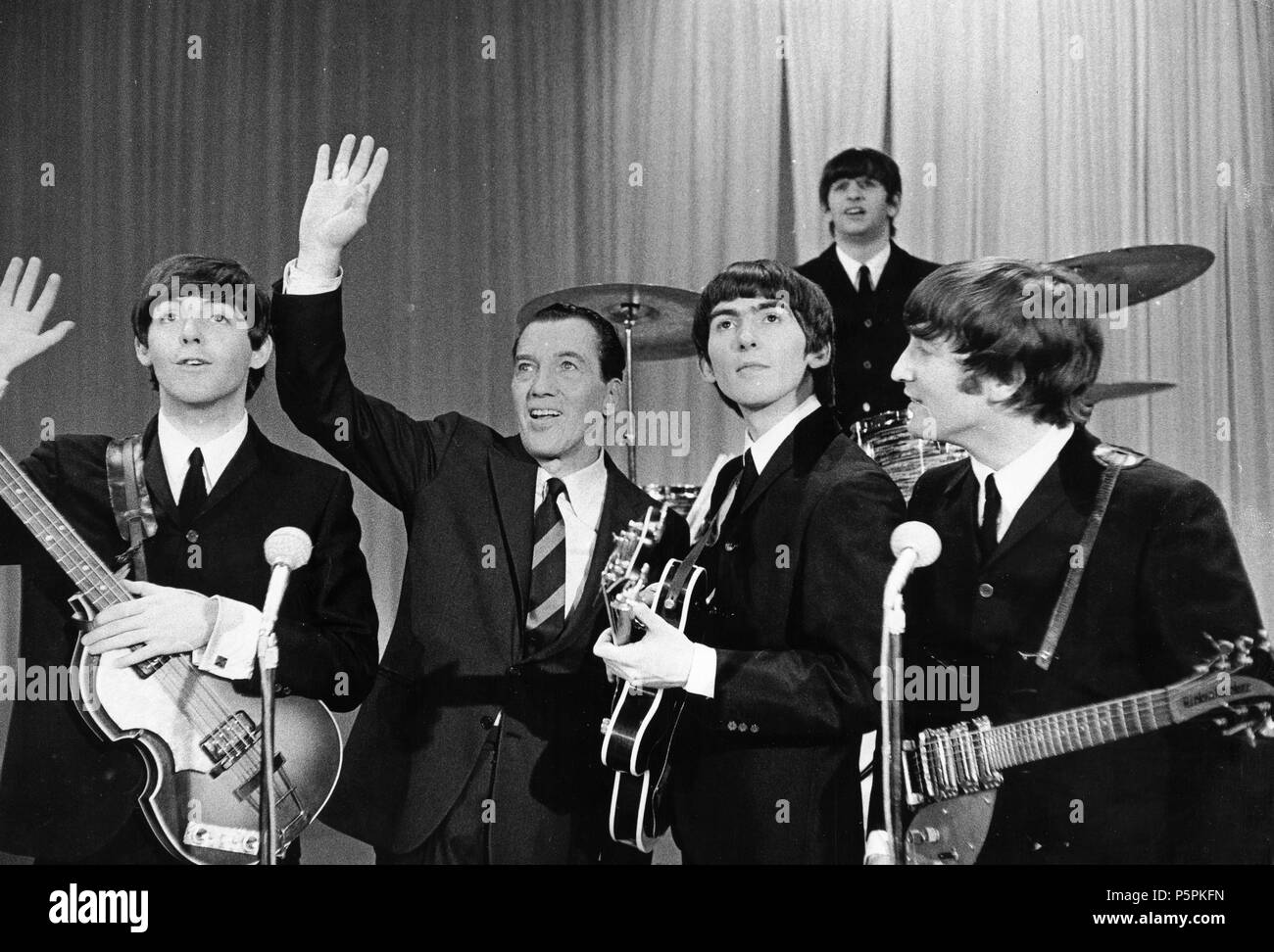 The Beatles Ed Sullivan Show New York 60s