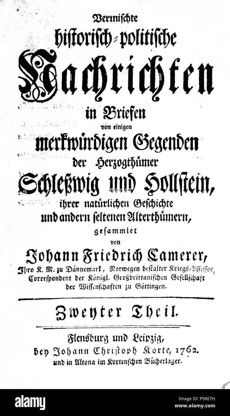 Na Deutsch Deckblatt Des Buches Vermischte Historisch Politische
