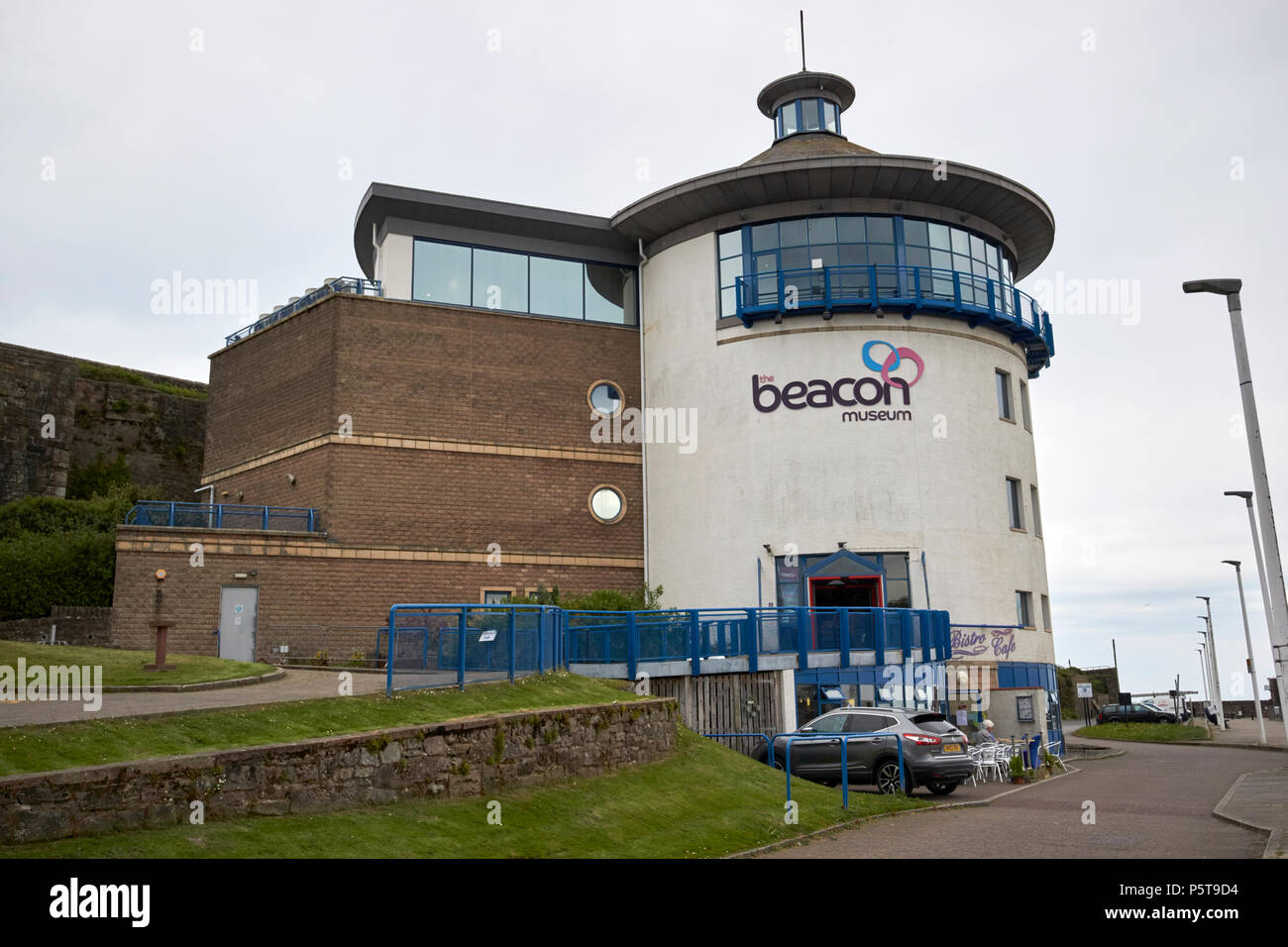 The beacon museum Whitehaven Cumbria England UK - Stock Image