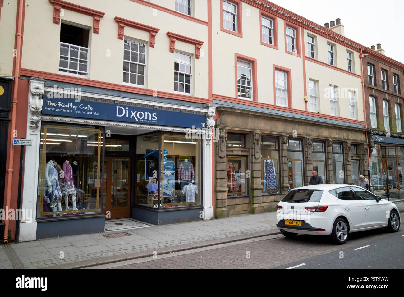 Dixons department store Whitehaven Cumbria England UK - Stock Image