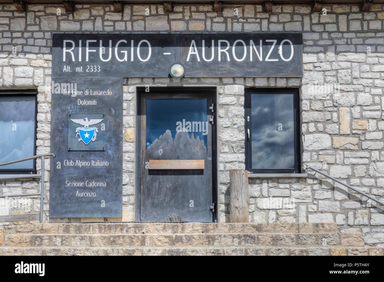 Tre Cime di Lavaredo, Dolomites, South Tyrol, Belluno, Sexten, Italy, Europe - Stock Image