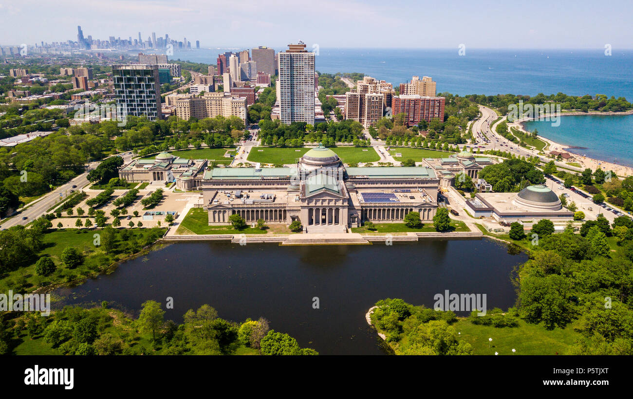 museum of science and industry chicago il usa stock photo