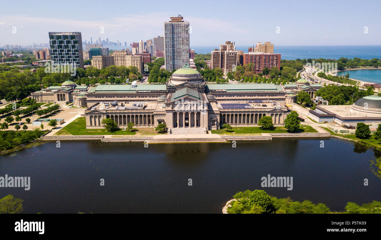 Museum of Science and Industry, Chicago, IL, USA - Stock Image
