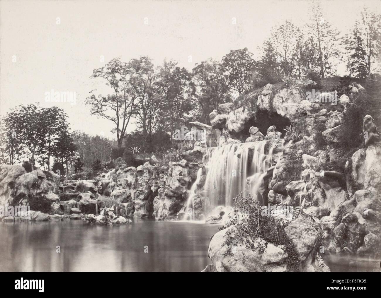 327 Charles Marville, Promenades de Paris - Bois de Boulogne, ca. 1853–70 I - Stock Image
