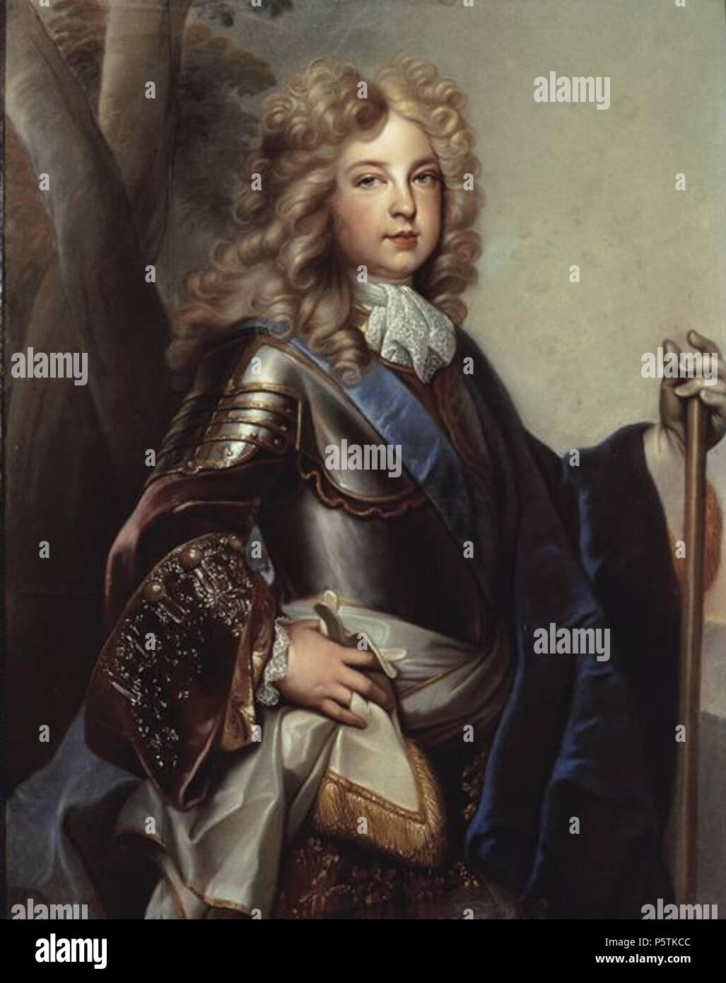 329 Charles of France, Duke of Berry in 1700 by an unknown