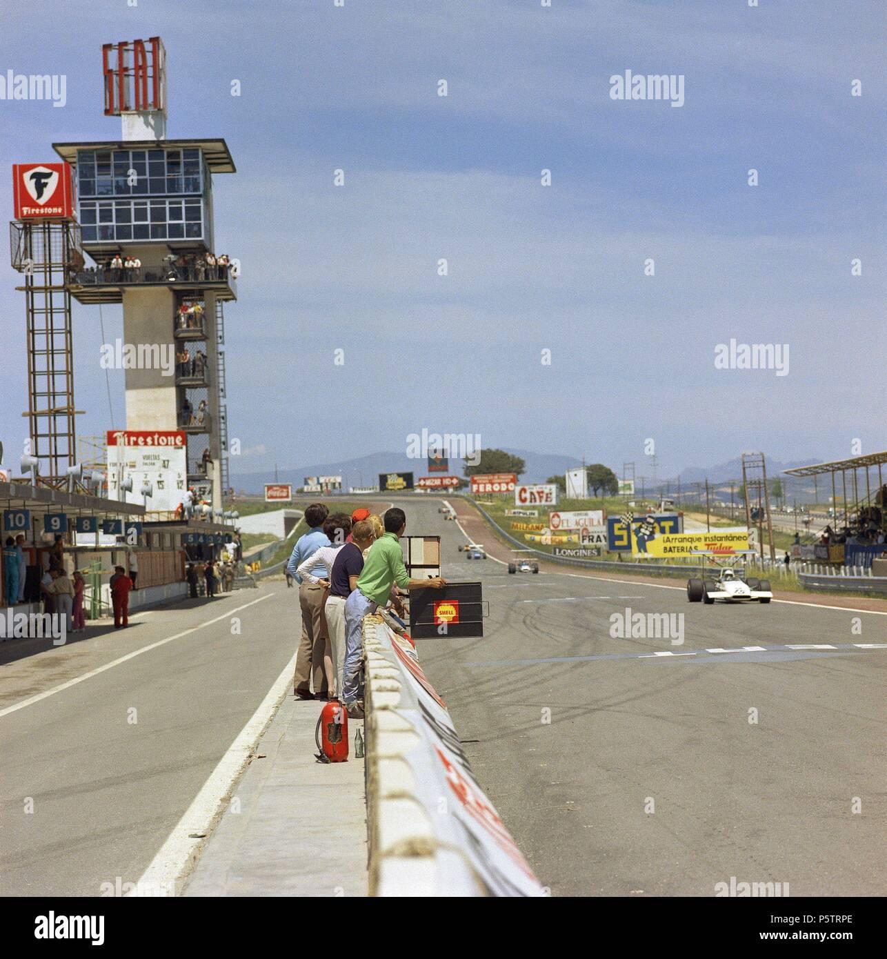Circuito Jarama : El reasfaltado del circuito del jarama ha comenzado