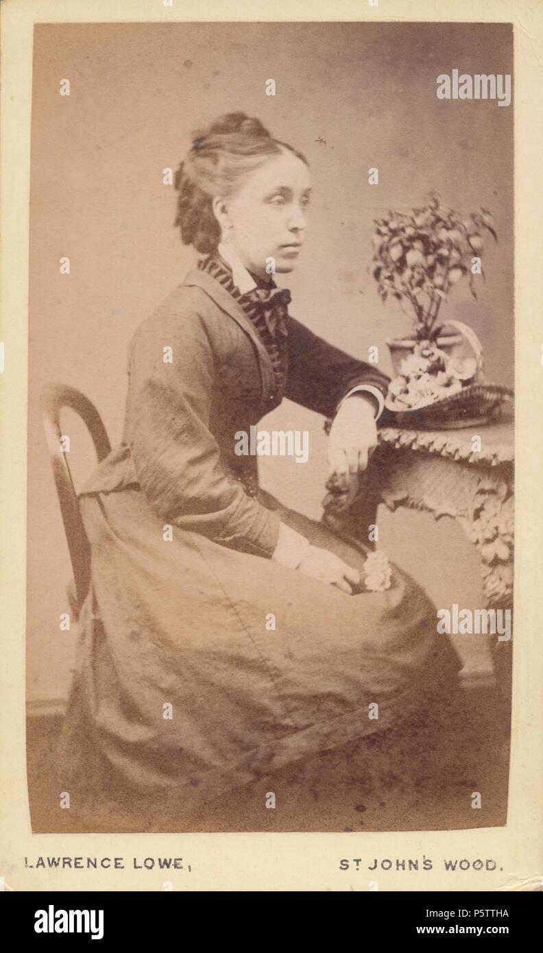 St Johns Wood CDV Carte De Visite Of A Victorian Lady