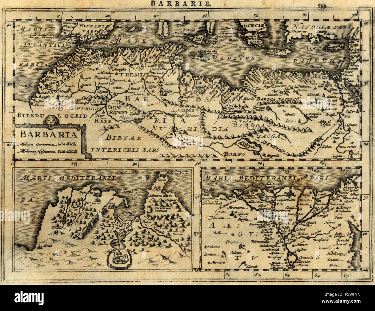 Carte Jcb Algerie.Maghreb Map Stock Photos Maghreb Map Stock Images Alamy
