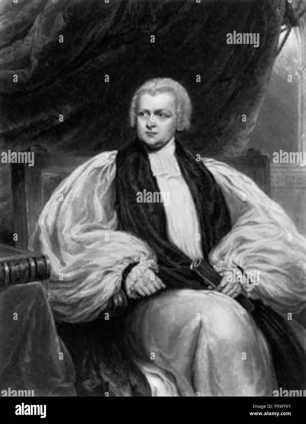 N/A. English: Charles James Blomfield (1786-1857) . 1827. William James Ward, after Samuel Lane 350 CJBlomfield - Stock Image