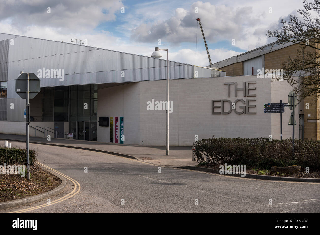 The Edge, new arts and management building at University of Bath Claverton Down campus, Somerset, UK - Stock Image