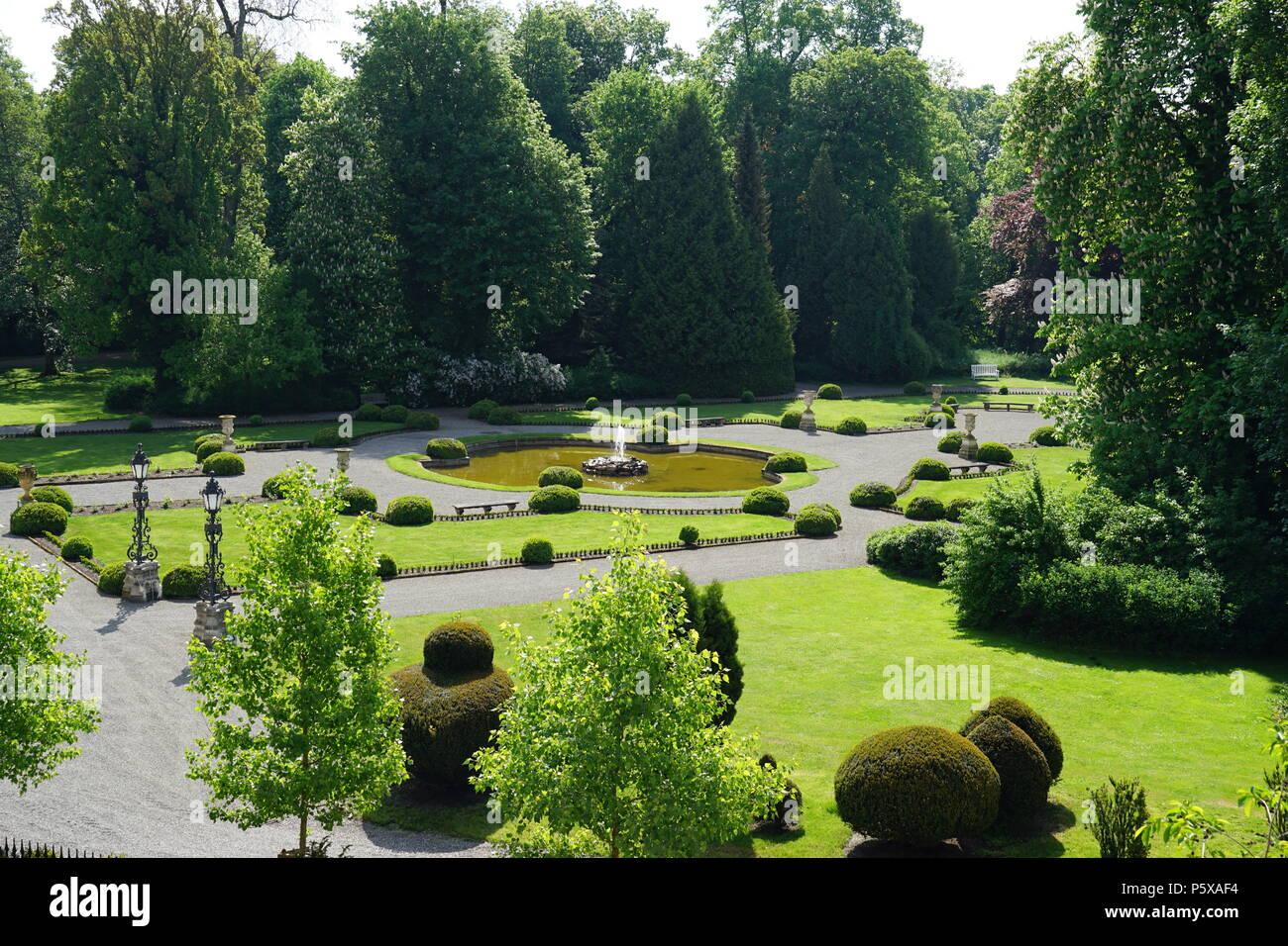 Schloßpark Donaueschingen, Baden-Württemberg, Germany, Europe - Stock Image