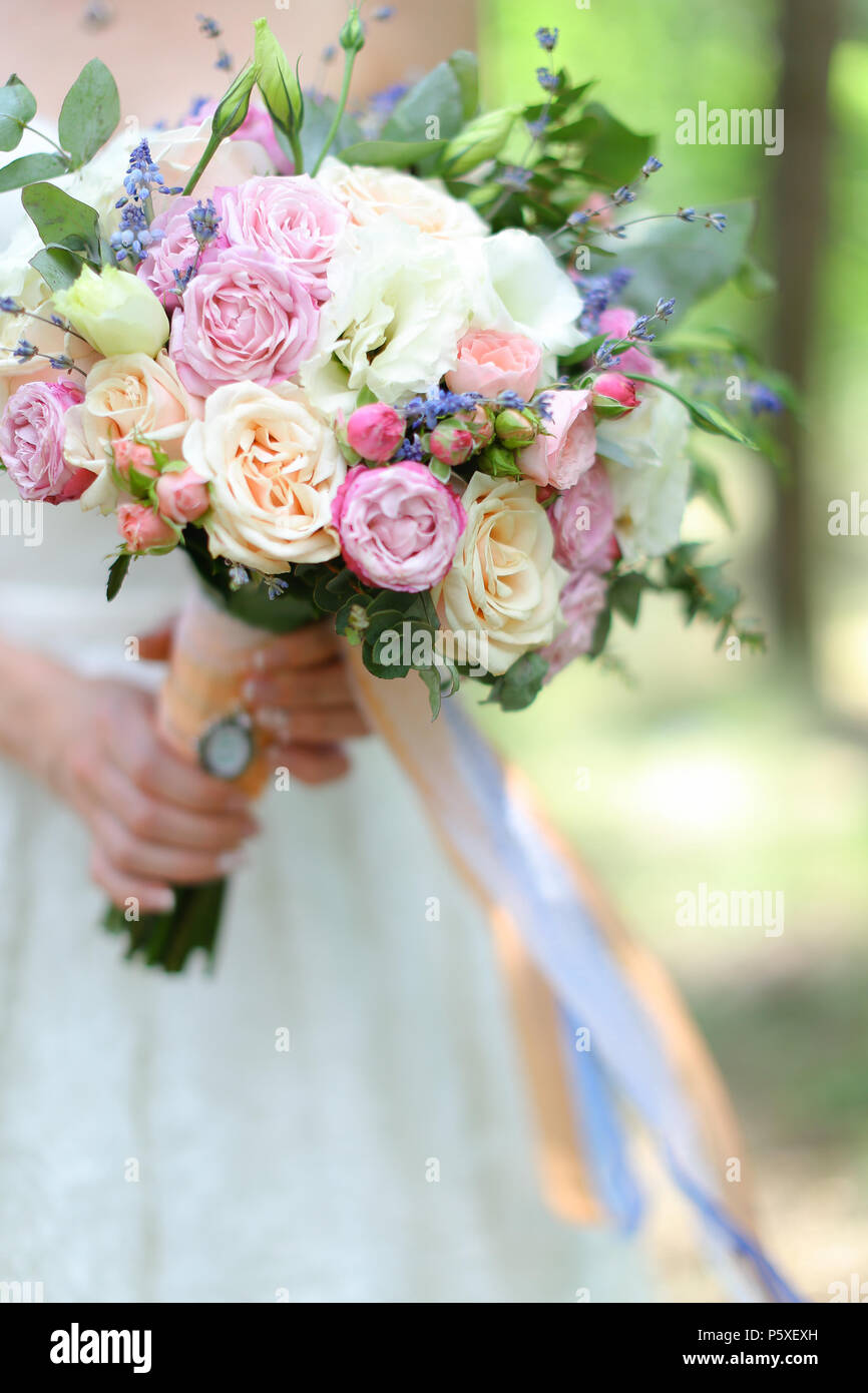 Close up bridal amazing bouquet of flowers stock photo 210180169 close up bridal amazing bouquet of flowers izmirmasajfo