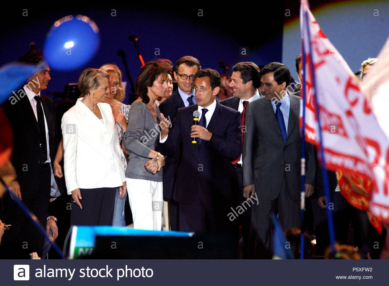 French President Nicolas Sarkozy And His Wife Cecilia Are Separating