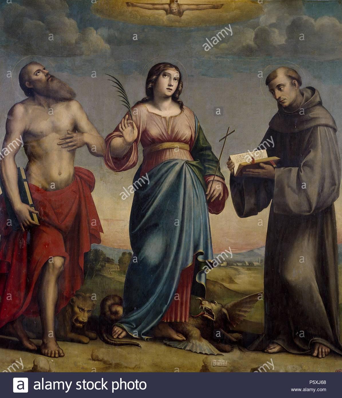 giacomo francia giulio francia saint jerome saint margaret and