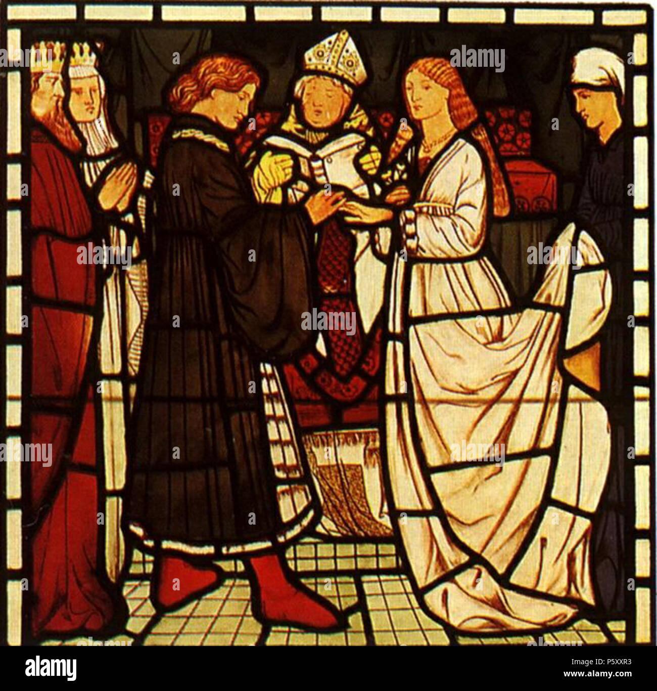 James Harden Date Of Birth: Sir Edward Burne Jones William Morris Stock Photos & Sir
