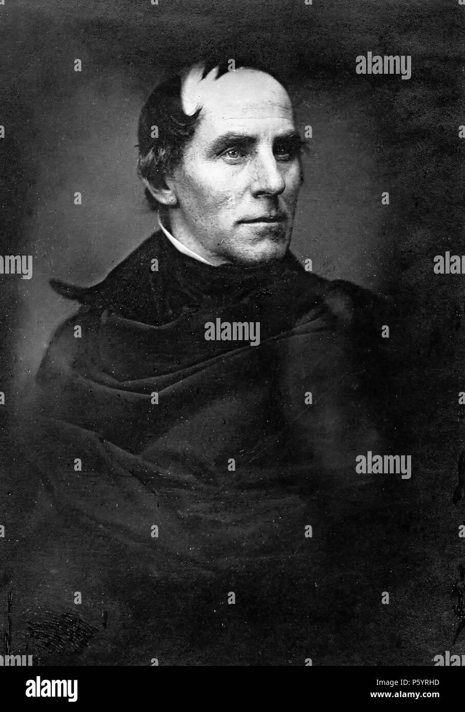 THOMAS COLE (1801-1848) English-born American painter in 1846 - Stock Image