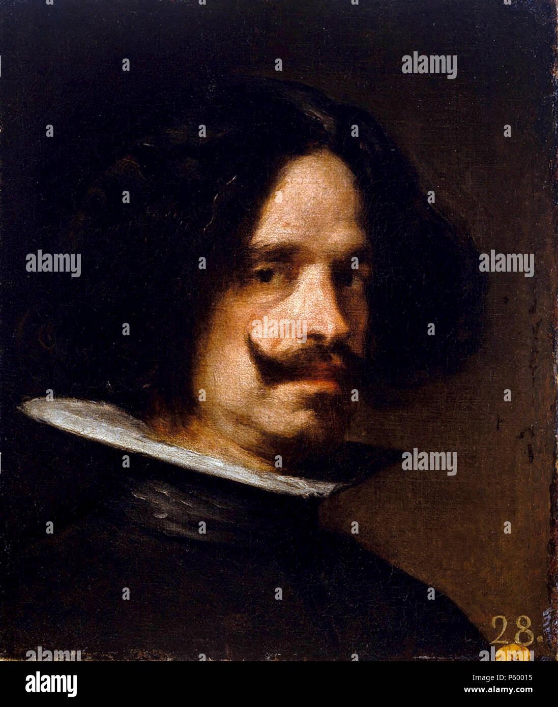 Velázquez, Diego Velázquez, Diego Rodríguez de Silva y Velázquez (1599 – 1660) Spanish painter - Stock Image