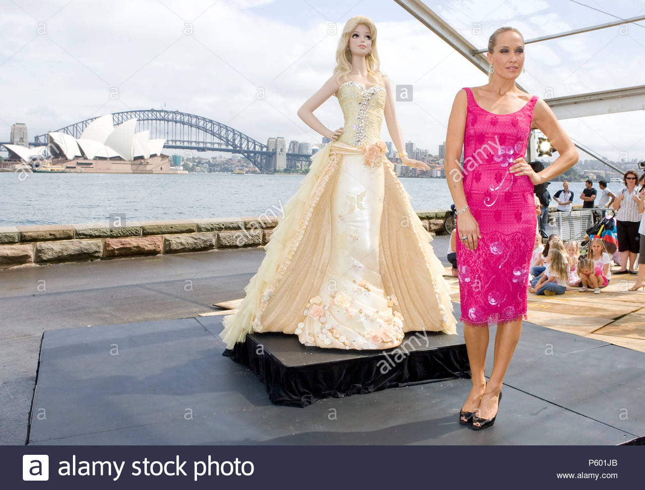 Erika Heynatz And Barbie Cake Barbie Celebrates Her 50th