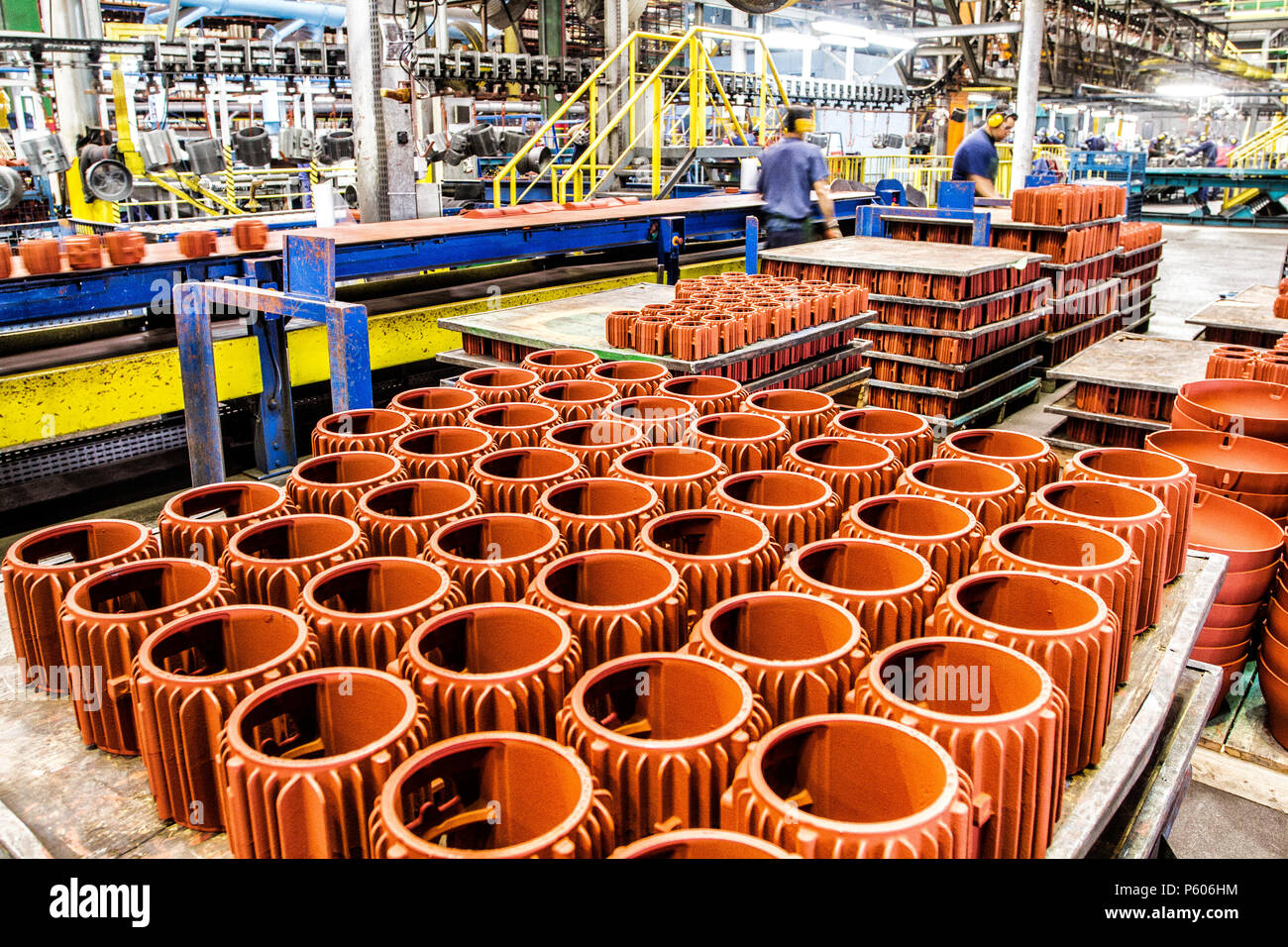 Manufacturing industrial plant in southern Brazil. - Stock Image
