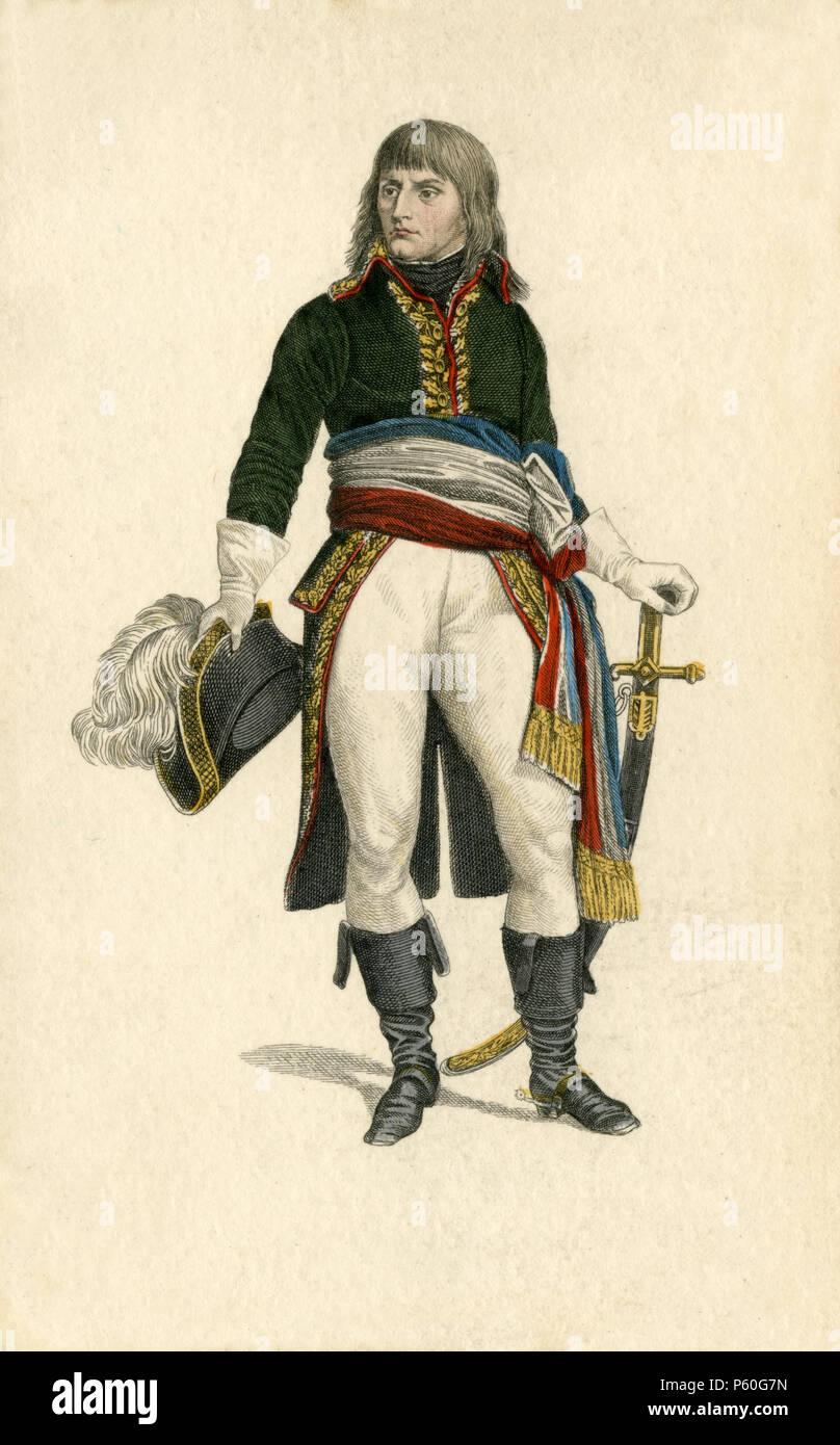 Napoleon Bonaparte, - Stock Image