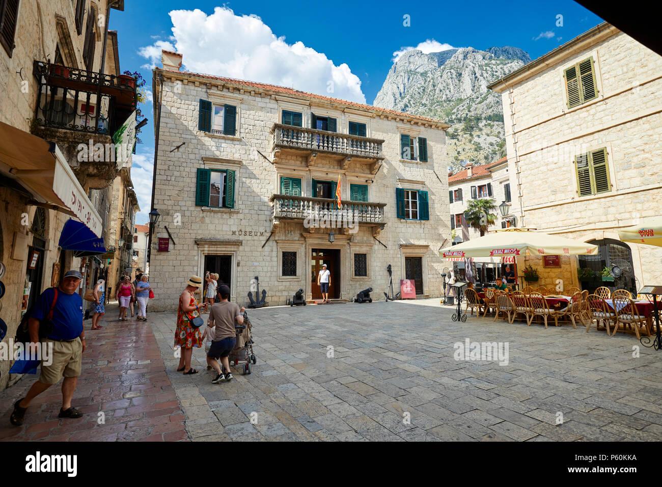 Kotor Old town Montenegro Stock Photo