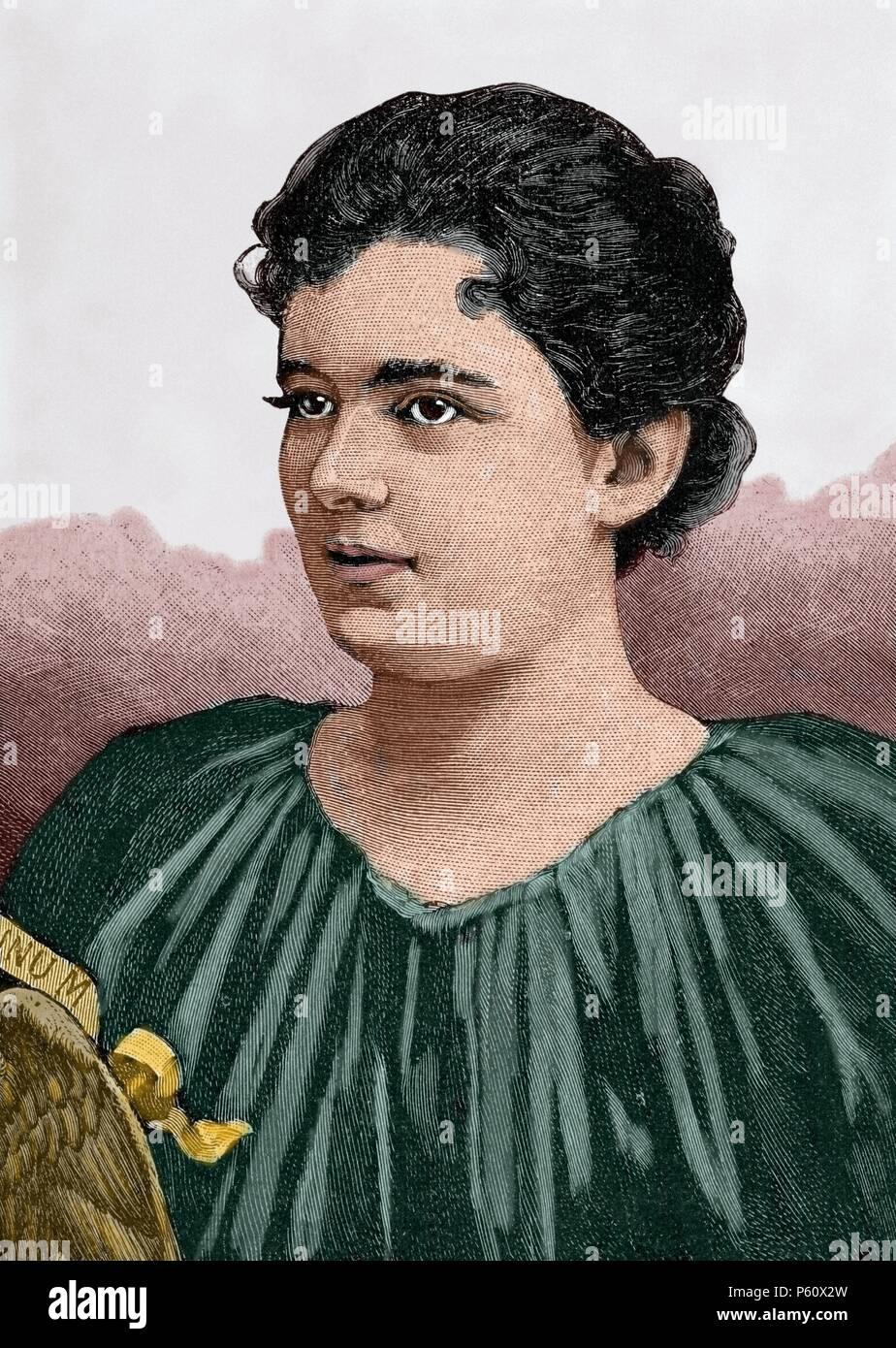 Frances Folsom Cleveland Preston 1864 1947 First Lady Of